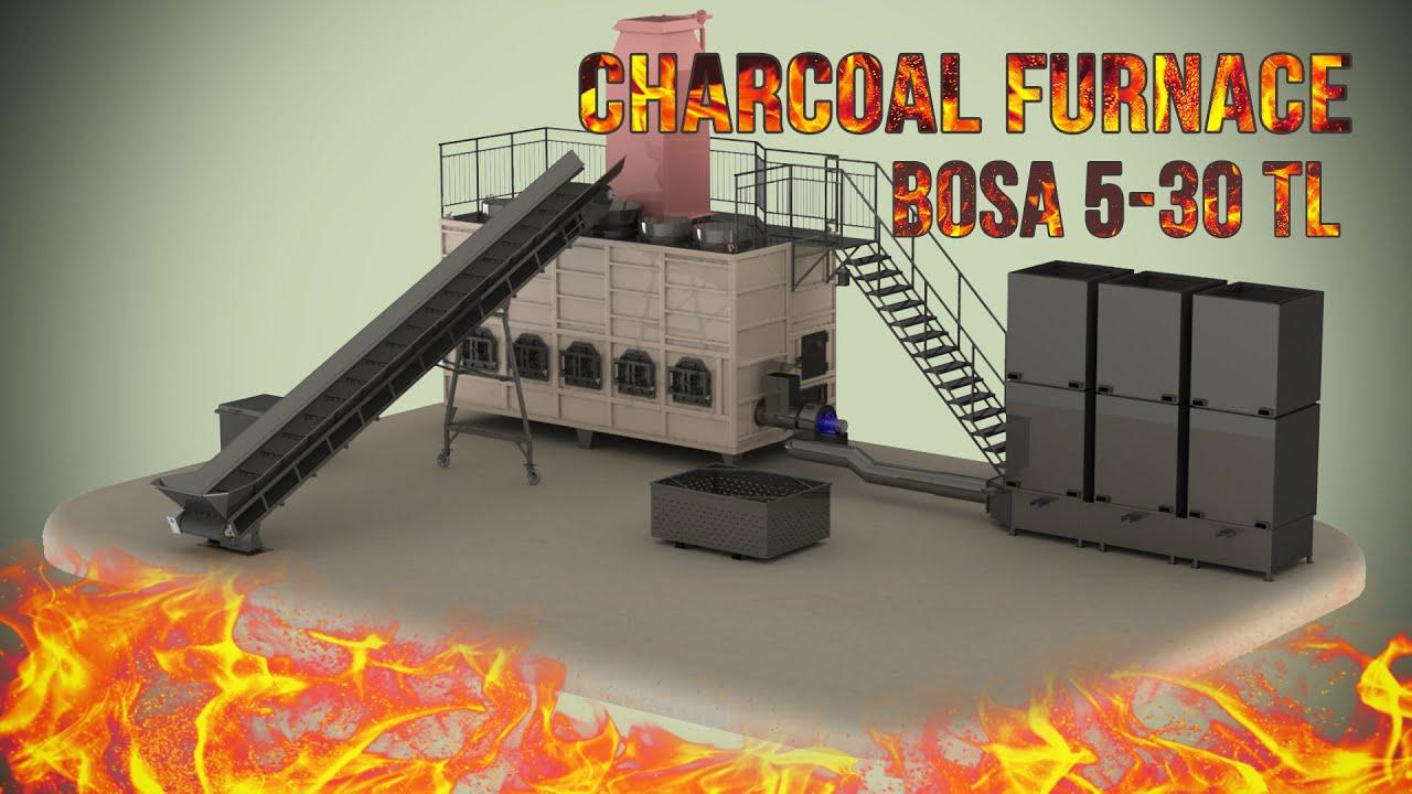 Charcoal furnace    BOSA 5-30 TL