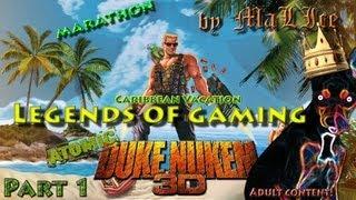 Duke Nukem 3D Caribbean Vacation (eDuke) Marathon - Part 1