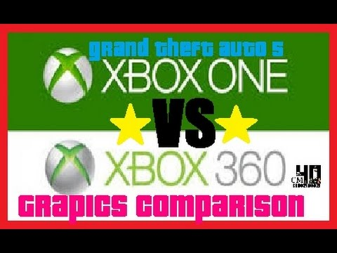 GTA V Xbox 360 vs Xbox One Graphics Comparison - YouTube