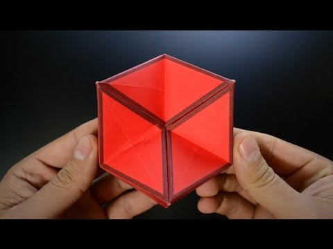 Origami: 3D Hexaflexagon / Action Toy - Instructions In English BR