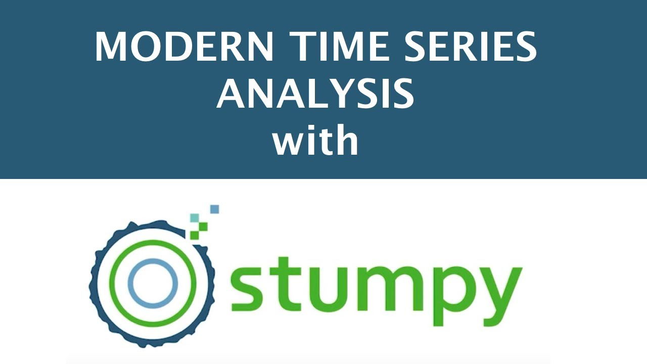 Modern Time Series Analysis with STUMPY    Sean Law