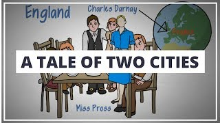 A TALE OF TWO CITIES BY CHARLES DICKENS // ANIMATED BOOK SUMMARY