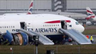 British Airways Flight 38 Heathrow crash ATC recording