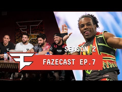 HE † S A WWE TAG TEAM CHAMPION! - #FaZeCast S2E7 feat. Xavier Woods