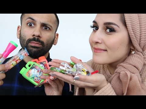 TRYING PAKISTANI SNACKS!!