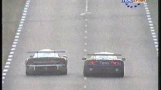 Porsche GT1 versus McLaren F1 GTR Le Mans 1996