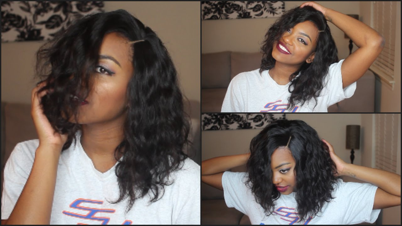 New Arrivals Deep Wave Brazilian Virgin Hair Lace Front ...
