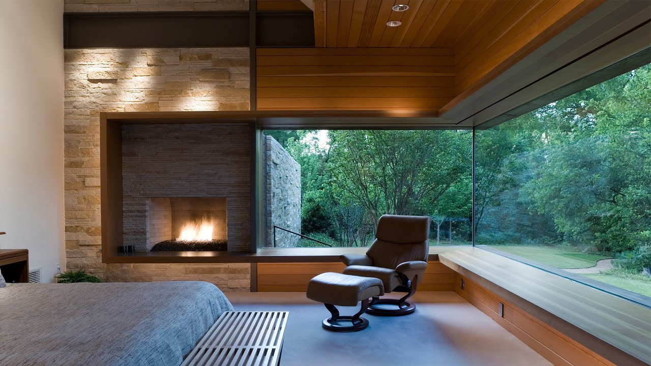 Dallas modern home selected by aia youtube - Modern home pictures ...
