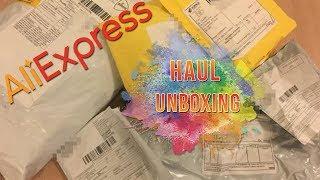 Haul / Unboxing loisir créatif AliExpress Août 2019