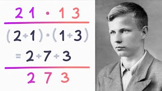 How Karatsuba's algorithm gąve us new ways to multiply