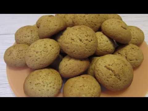 Домашнее медовое печенье / Вкусный рецепт домашнего печенья