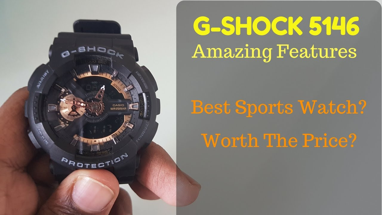 e66afa7d9ee CASIO G-Shock Module 5146   5425 Black and Gold - Best G-Shock Watch ...
