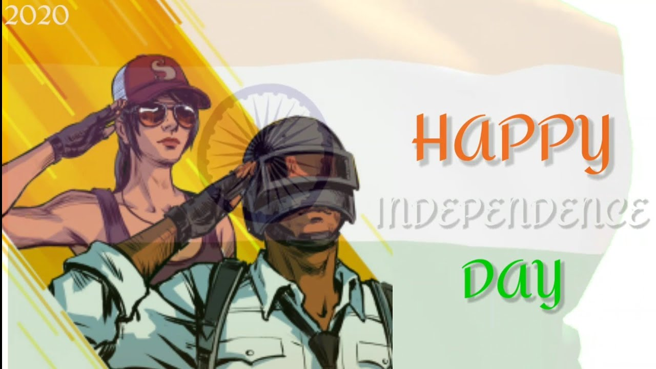 HAPPY INDEPENDENCE DAY    PUBG MOBILE    CRUSHER GAMING