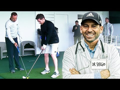 MY DAY WITH SERGIO GARCIA! CAN HE SAVE MY GOLF SWING?