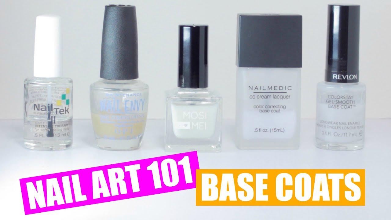 Base Coats Nail Art 101
