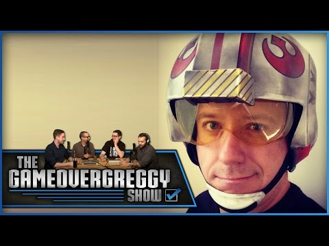 Gary Whitta Special Guest  The GameOverGreggy  Ep. 63