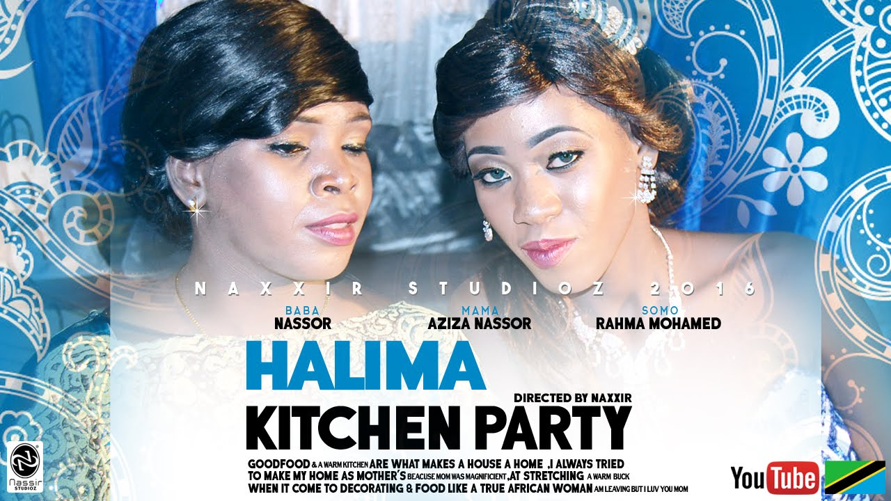 Halima - Kitchen Party 2016 - YouTube