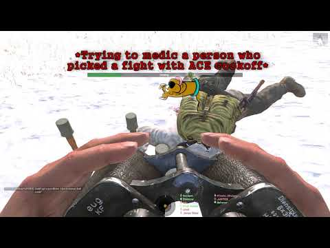 Nordern demonstrates how to never get a Medic tag: Arma 3 highlights