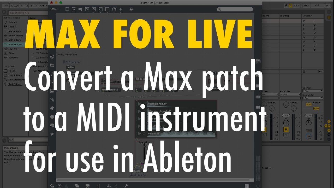 ableton max 7