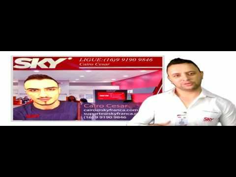 Comercial Mês dos pais SKY FRANCA (Cairo Cesar) Participação Dieyzhon Martins