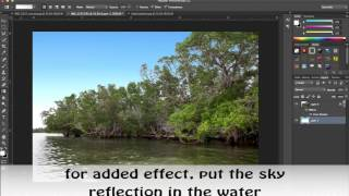 Photoshop CC advanced selection and sky replacement