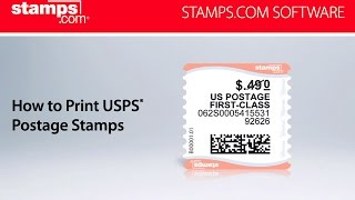 Stamps.com - How to Print USPS Postage Stamps