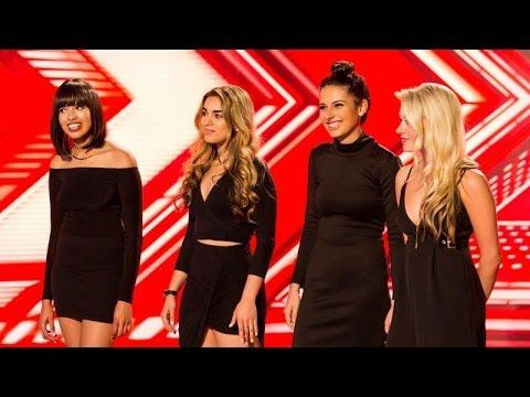 Four Of Diamonds - All Performances (The X Factor UK 2016)