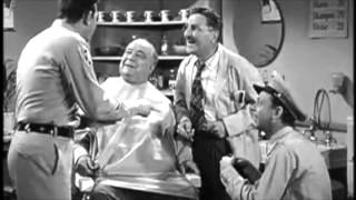 Andy griffith, barney, floyd, mayor, bob lip reading