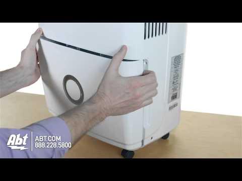 Frigidaire 70 Pint Capacity White Dehumidifier FFAD7033R1 Overview