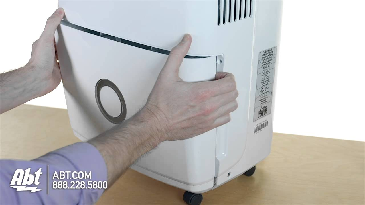 Frigidaire 70 Pint Capacity White Dehumidifier FFAD7033R1 Overview