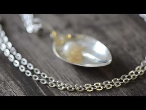 Peek into making Silver Spoon Jewelry at Designhuone