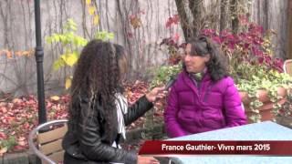 France Gauthier- Du Clic au Déclic Magazine Vivre Mars 2015