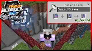 Efficiency 5 and Setting up for Gold Farm Truly Bedrock EP3