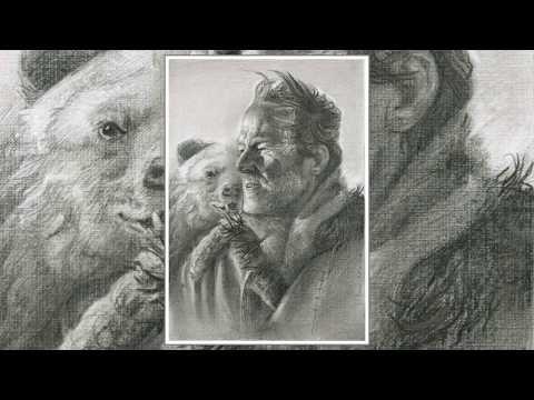Iain Glen ( Jorah Mormont)Game of Thrones and the bear