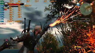 the Witcher 3 on Gaming LapTop MSI GP72 6QF Leopard Pro i7 6700HQ/Nvidia GTX960M