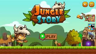 Jungle Story - Jungle adventure - super jungle run - Gameplay (Android)