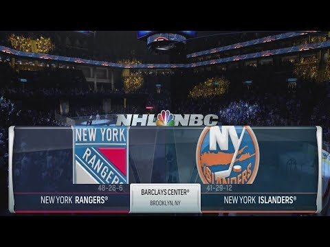 NHL 18 Gameplay - New York Rangers vs New York Islanders