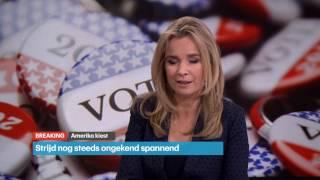 Trump wint verkiezingen: Uitzending RTL Nieuws (Deel 2)
