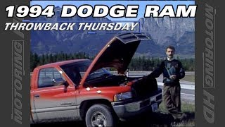 Throwback Thursday: 1994 Dodge Ram Test Drive