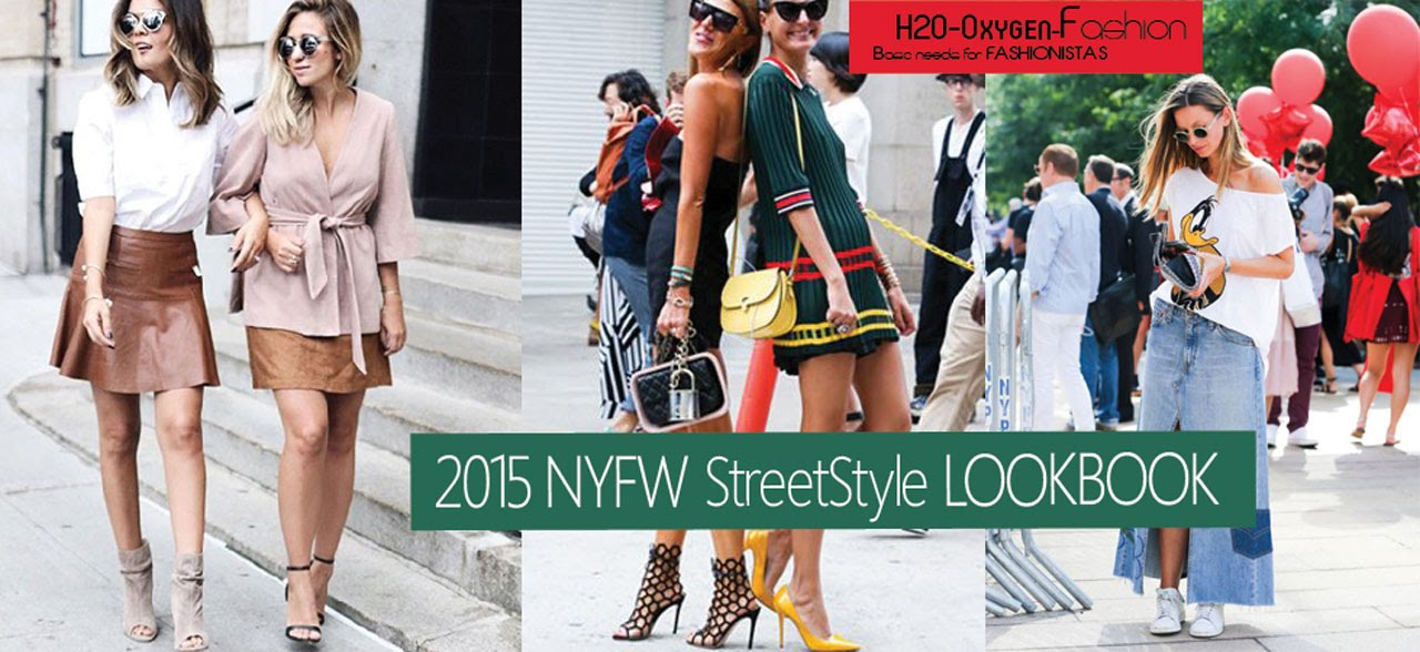 2015 Nyfw Street Style Lookbook New York Fashion Week