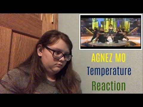AGNEZ MO - Temperature @ BRI dihati Trans TV Reaction