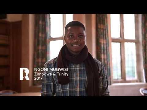 Ngoni Mugwisi: Rhodes Profile (Zimbabwe & Trinity 2017)