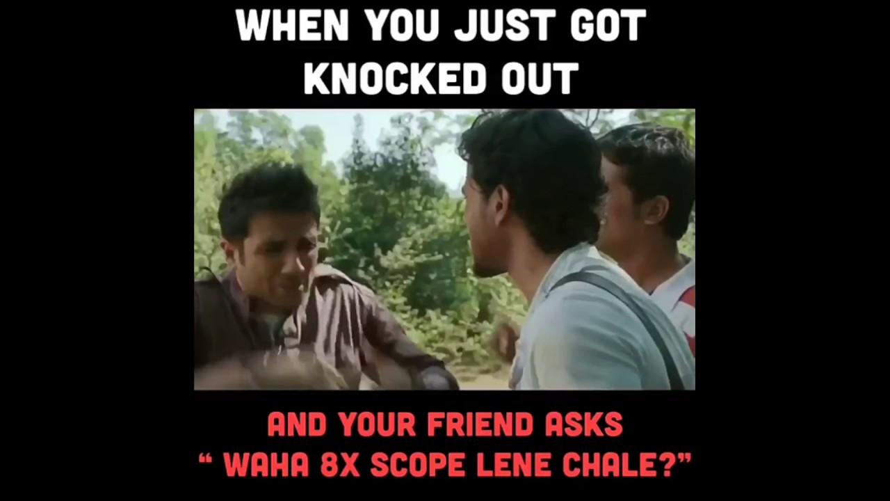 Best pubg meme reaction when you get knocked out indian pubg meme by ashish chanchlani