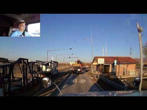 #163 California Scales and Windmills The Life of an Owner Operator Flatbed Truck Driver Vlog
