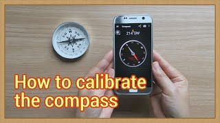 How to calibrate the compass (2019) screenshot 2