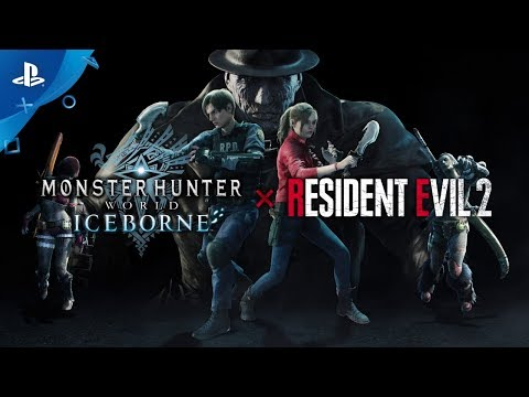 Monster Hunter World: Iceborne x Resident Evil 2 | Leon & Cl