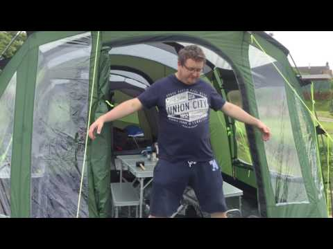 Outwell Glenwood 600 Tent Review by the Swearing Welshman