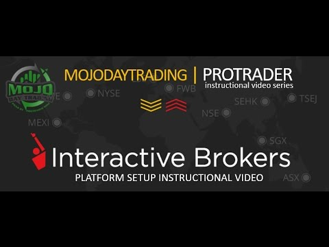Interactive Brokers TWS Platform Setup  | The 🎙  MOJO Day Trade Show