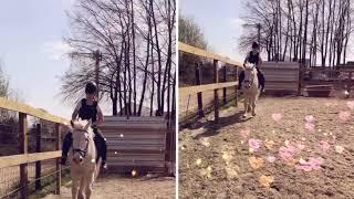 Heerlijk rijden met Toby //zussen tussen de paarden