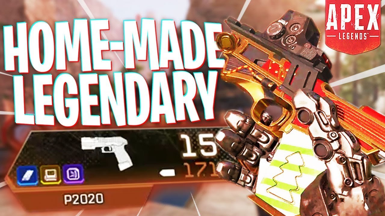 I Made My Own Legendary P2020 and it Beams! - PS4 Apex Legends